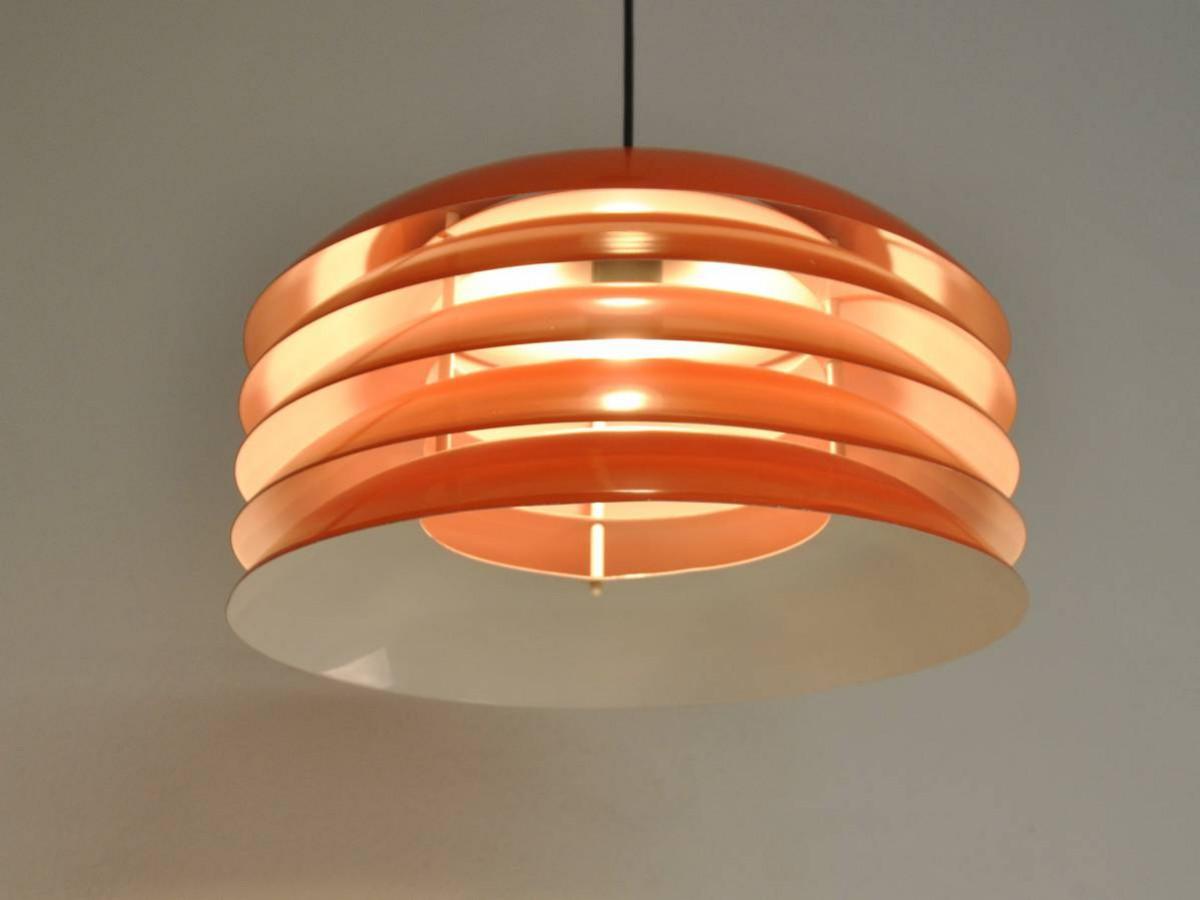 orange pendant by hans agne jakobsson novac vintage. Black Bedroom Furniture Sets. Home Design Ideas