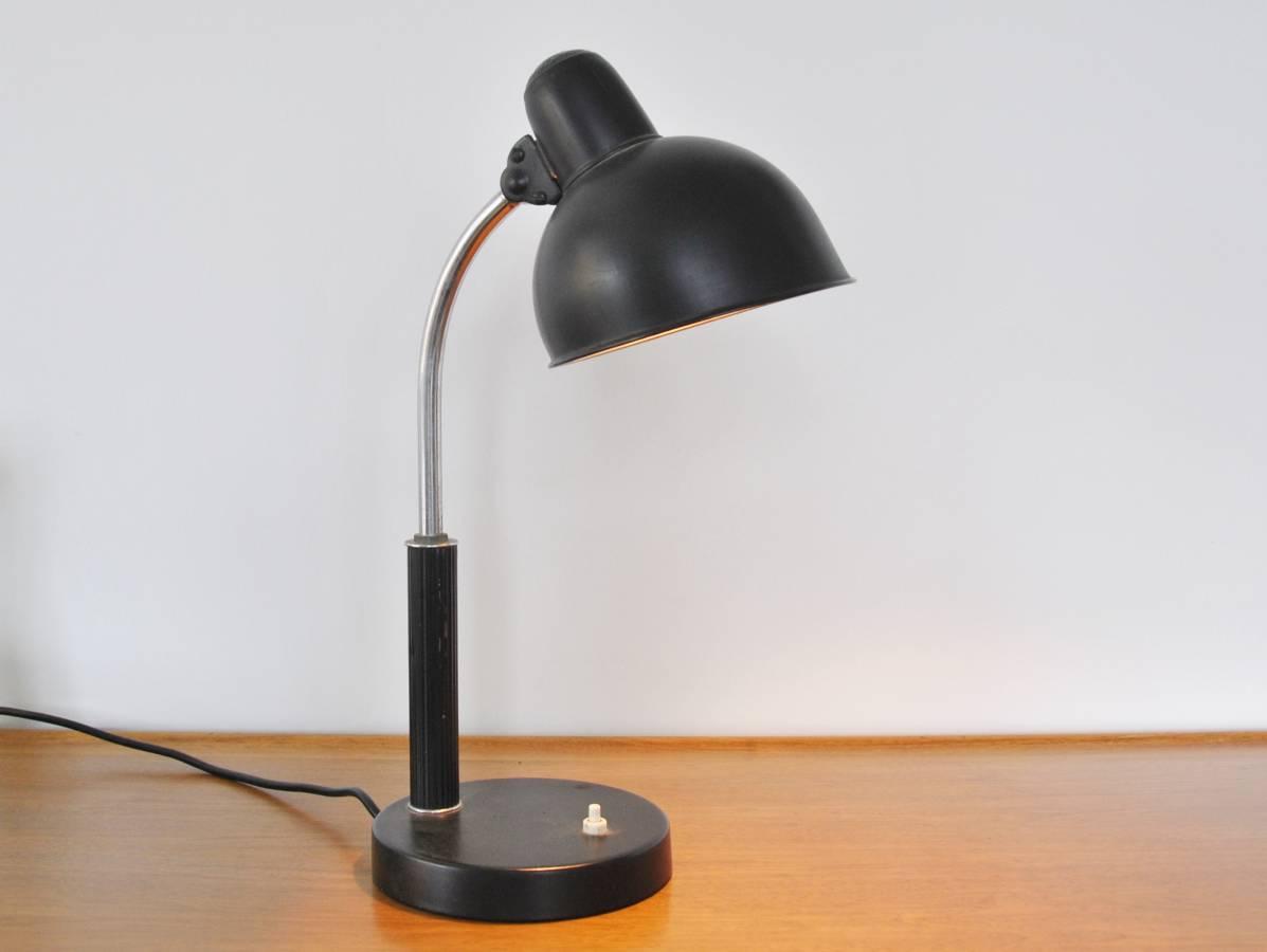 Kaiser Idell Desk Lamp By Christian Dell Novac Vintage