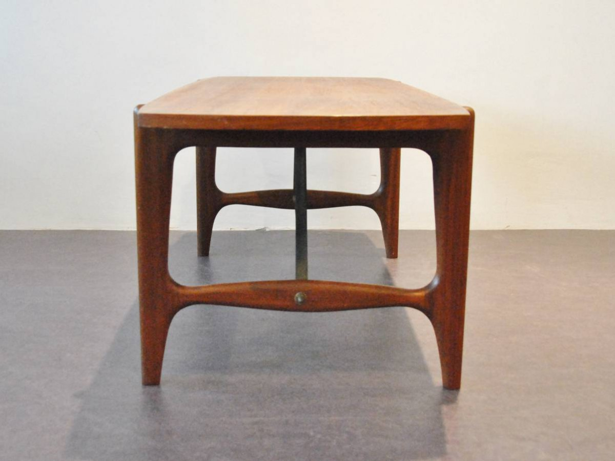Coffee table of Scandinavian design by unknown designer