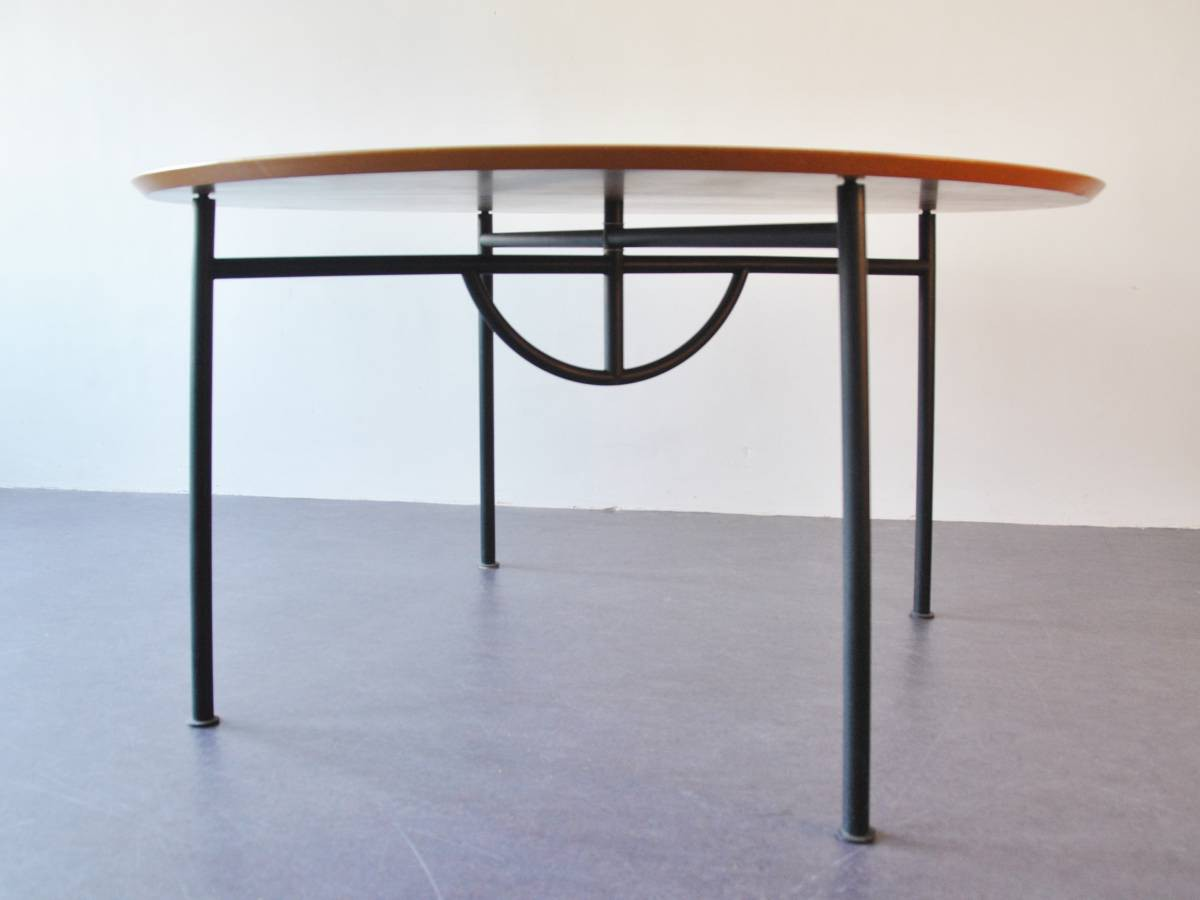 Rare 39 nina freed 39 dining table by philippe starck 1983 for Philippe starck dining tables