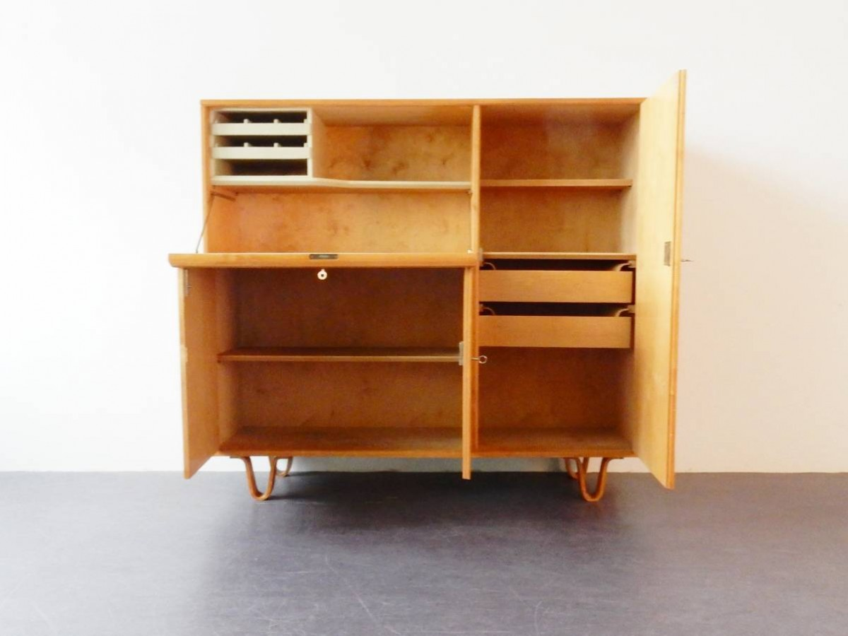 Model Cb01 Hidden Desk Cabinet By Cees Braakman For Pastoe H.