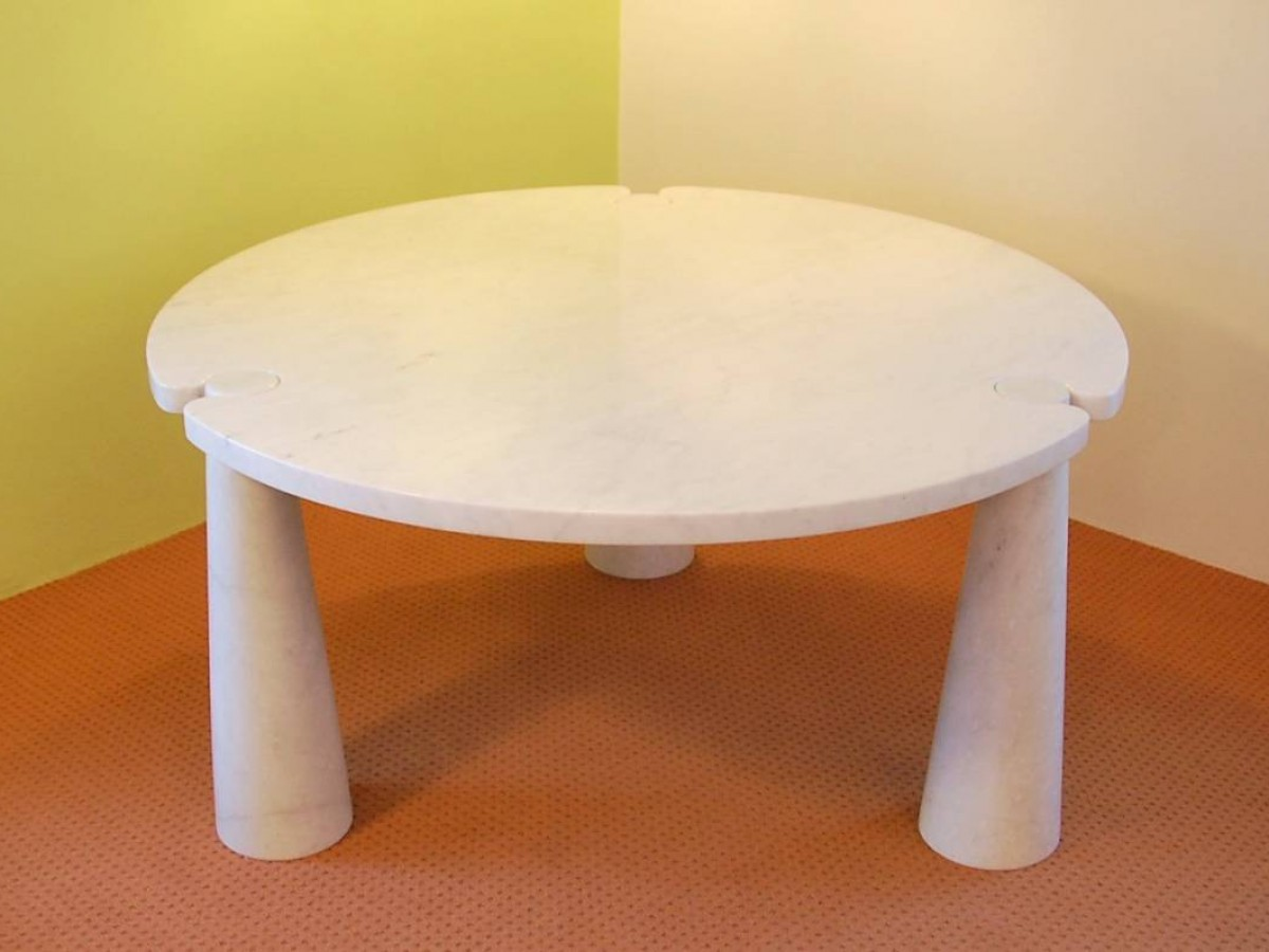 Round Marble Eros Dining Table By Angelo Mangiarotti For Skipper Italy 1970 S Novac Vintage